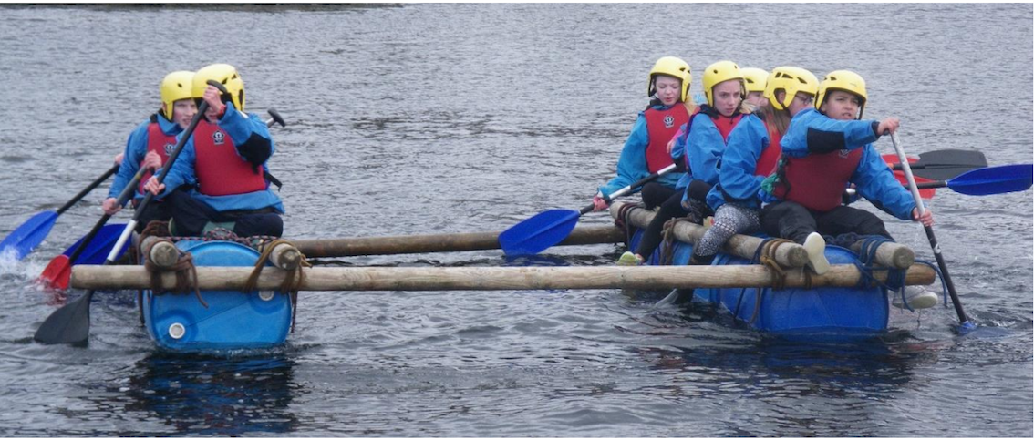James Hamilton Academy Outward Bound Trust Kayakers