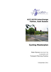 A270 Falmer Cycling Masterplan Cover